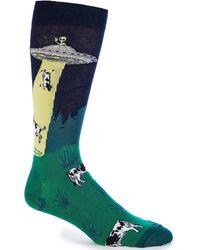 K. Bell - Novelty Dairy Thief Crew Socks - Lyst