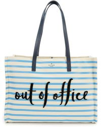 Kate Spade - California Dreaming Out Of Office Sam Tote - Lyst