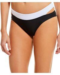 Gianni Bini - Fan Fav Colorblock Double Strap Bikini Swimsuit Bottom - Lyst