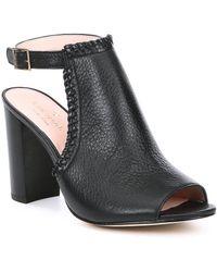 Kate Spade - Orelene Block Heel Shooties - Lyst