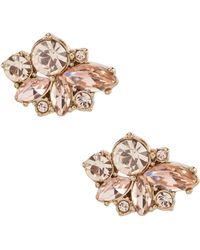 Givenchy - Silk Cluster Button Earrings - Lyst