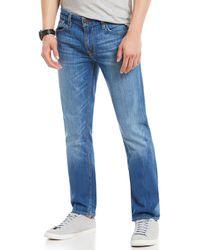 fb45107e09e Guess Falcon Retribution Bootcut Jeans in Blue for Men - Lyst