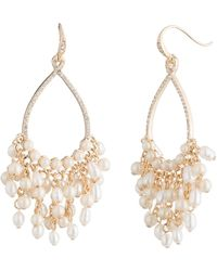 Carolee - Gypsy Hoop Statement Earrings - Lyst