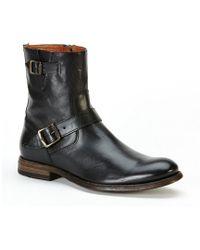 Frye - Men's Jacob Buckle Strap Engineer Block Heel Boots - Lyst