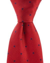 "Brooks Brothers - Dot Traditional 3.25"" Silk Tie - Lyst"