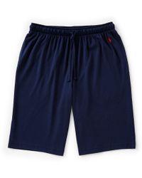 Polo Ralph Lauren - Big & Tall Supreme Comfort Jersey Pajama Shorts - Lyst