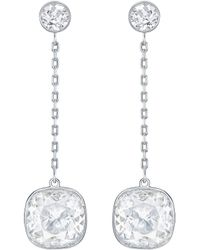 Swarovski - Lattitude Drop Earrings - Lyst