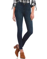 William Rast - Sculpted High Rise Skinny Jeans - Lyst