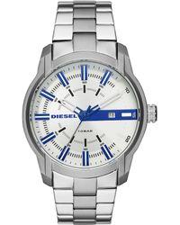 DIESEL - Men's Armbar Stainless-steel Watch - Lyst