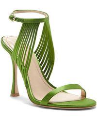 Vince Camuto - Imagine Raim Satin Ankle Strap Dress Sandals - Lyst