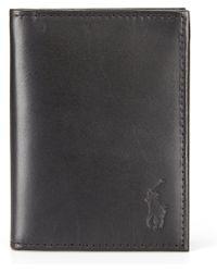 Polo Ralph Lauren - Burnished Leather Window Billfold - Lyst