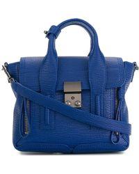 3.1 Phillip Lim Mini Pashli Bag - Blue