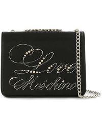 Love Moschino - Logo Studs Bag - Lyst