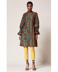 Sachin & Babi - Fall 2018 Noir Collection Long Sleeve Jacquard Nadya Coat - Lyst