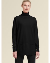 DKNY - Oversized Turtleneck Sweater - Lyst