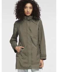 DKNY - Packable Rain Coat - Lyst