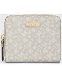 DKNY | Bryant Park Logo Small Carryall Wallet | Lyst