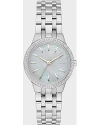 DKNY - Park Slope Stainless-steel Three-hand Watch - Lyst