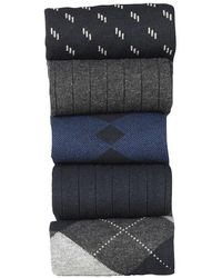 Dockers - Argyle Socks Dress Socks (5 Per Package) - Lyst