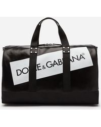Dolce & Gabbana - Coated Canvas Travel Bag - Lyst