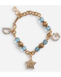 Dolce & Gabbana - Bracelet With Charms - Lyst