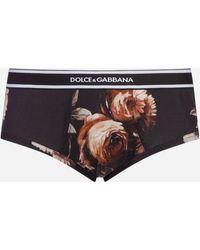Dolce & Gabbana - Printed Briefs - Lyst