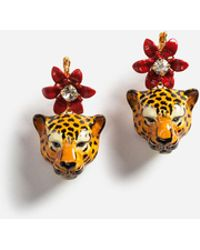 Dolce & Gabbana   Pendant Earrings With Decorative Elements   Lyst