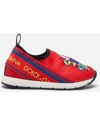 Dolce & Gabbana - Zapatillas Sorrento, Primeros Pasos, Slip-On Y Con Estampado - Lyst