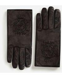 Dolce & Gabbana - Nappa Leather Gloves - Lyst