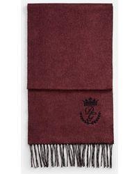 Lyst - Foulard Gavroche 45 en soie Hermès pour homme en coloris Violet 3e8a0bf1160