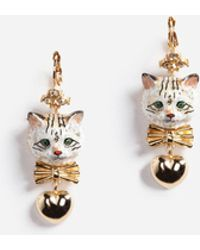 Dolce & Gabbana | Drop Earrings With Decorative Details | Lyst