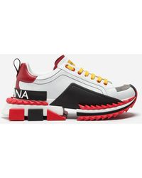Dolce & Gabbana - Multicolor Super King Sneakers - Lyst