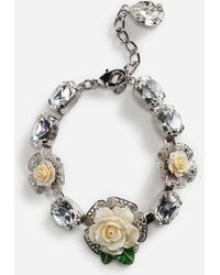 Dolce & Gabbana - Armband Mit Rosen - Lyst