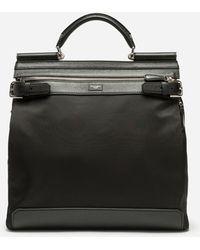 Dolce & Gabbana - Sicily Backpack In Nylon - Lyst