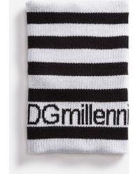 Dolce & Gabbana - Dgmillennials Wrist Sweatband - Lyst