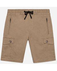 Dolce & Gabbana - Cotton Shorts - Lyst