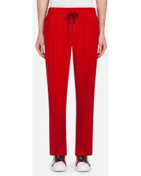 Dolce & Gabbana - Cady Jogging Pants With Bands - Lyst