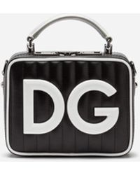 1f27809d6d84 Dolce   Gabbana - Dg Girls Small Bag In Coated Canvas - Lyst