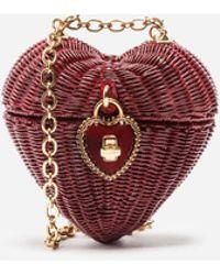 Dolce & Gabbana - Dolce Heart Box In Painted Wicker - Lyst