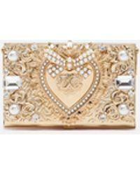 Dolce & Gabbana Jewel Micro-bag With Chain