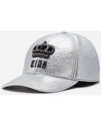 Dolce & Gabbana - Cotton Baseball Cap With Patch - Lyst