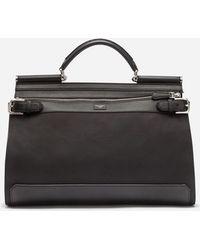 edbc1485d3e Dolce   Gabbana - Nylon Sicily Work Bag - Lyst