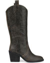 Donald J Pliner - Riot Vintage Leather Boot - Lyst