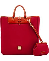 Dooney & Bourke - Wexford Leather Editor's Tote & Large Frame Purse - Lyst