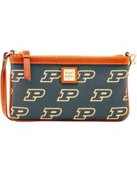 Dooney & Bourke - Ncaa Purdue Large Slim Wristlet - Lyst
