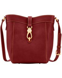 a0c2efece83 Dooney   Bourke - Florentine Large Sadie Feed Bag - Lyst