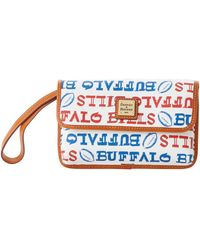Dooney & Bourke - Nfl Bills Milly Wristlet - Lyst