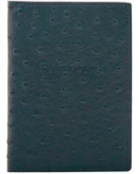 Dooney & Bourke - Ostrich Passport Case - Lyst