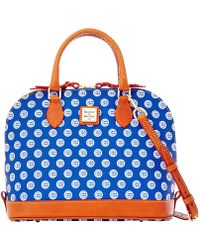 Dooney & Bourke - Mlb Cubs Zip Zip Satchel - Lyst