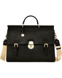 Dooney & Bourke - Alto Double Gusset Buckle Briefcase - Lyst